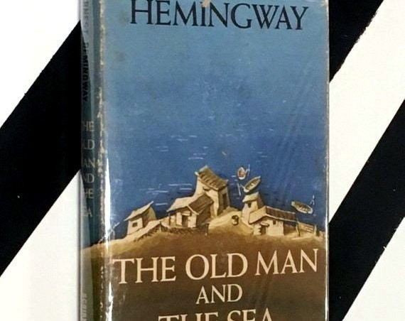 The Old Man and the Sea by Ernest Hemingway (1955) hardcover book
