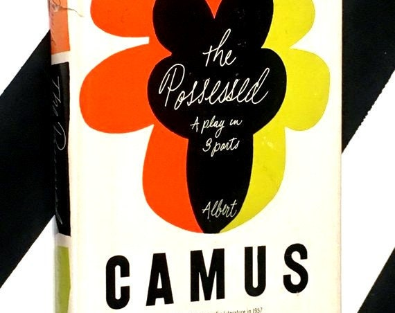 The Possessed: A Play in Three Parts by Albert Camus (1960) hardcover book