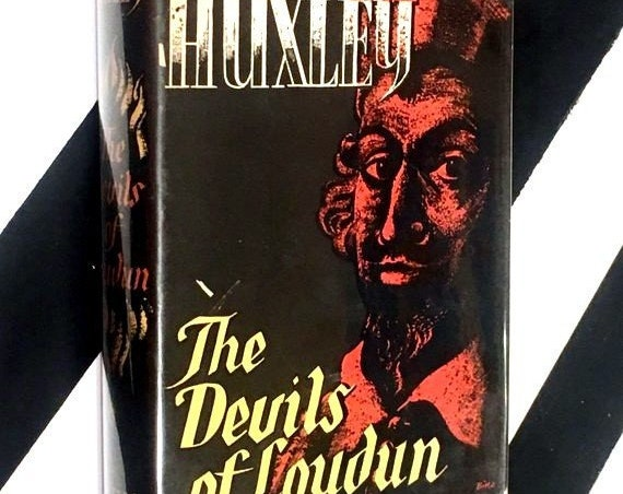 The Devils of Loudun by Aldous Huxley (1952) hardcover first edition book