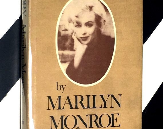 My Story by Marilyn Monroe (1974) hardcover book