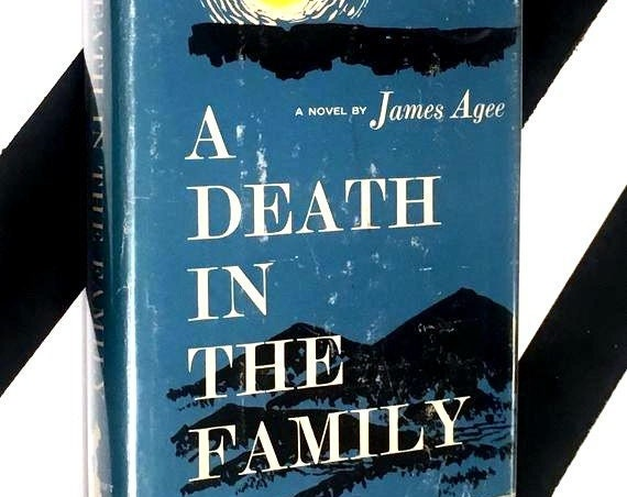 A Death in the Family: A Novel by James Agee (1967) hardcover book