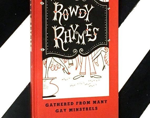 Rowdy Rhymes edited by The Peter Pauper Press (1952) hardcover book