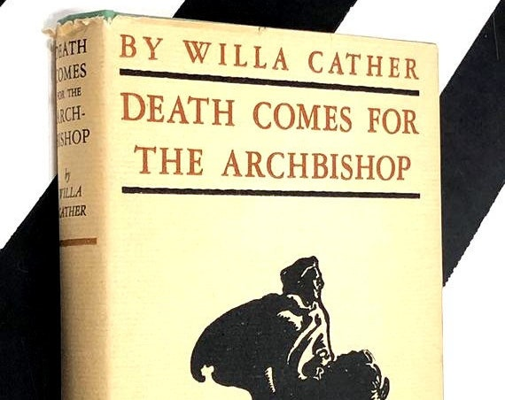 Death Comes for the Archbishop by Willa Cather (1964) hardcover book