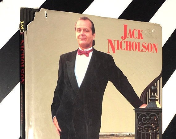 Jack Nicholson by Nancy Campbell (1994) hardcover book