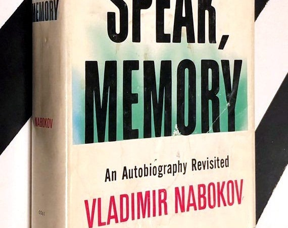 Speak, Memory: An Autobiography Revisited by Vladimir Nabokov (1966) hardcover book