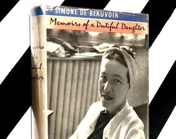 Memoirs of a Dutiful Daughter by Simone de Beauvoir (1959) hardcover book