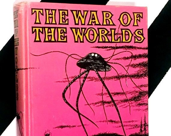 The War of the Worlds by H. G. Wells (1960) hardcover book