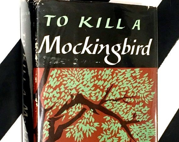 To Kill a Mockingbird: A Novel by Harper Lee (1960) hardcover book