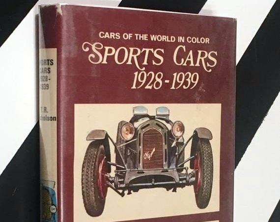 Sports Cars 1928 - 1939 by T. R. Nicholson (1969) hardcover book