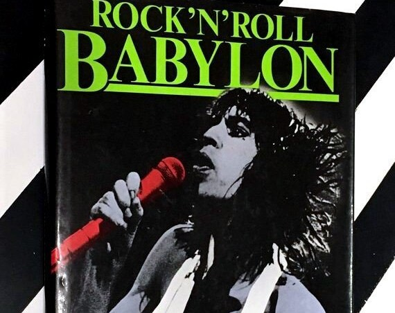 Rock 'N' Roll Babylon by Gary Herman (1982) hardcover book