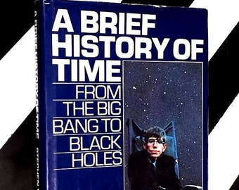 A Brief History of Time by Stephen W. Hawking (1988) hardcover book