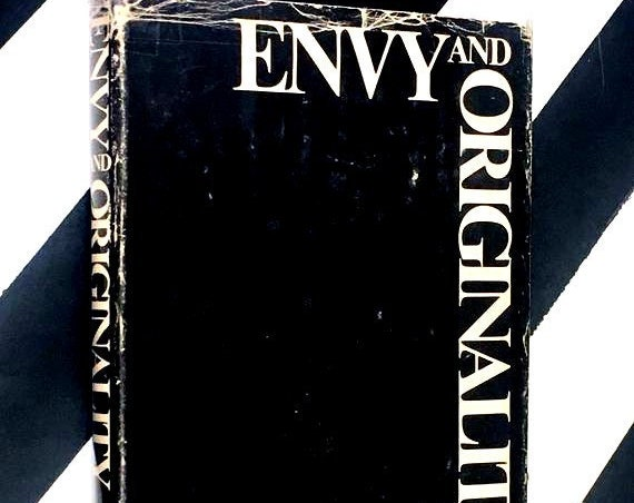 Envy and Originality: How to Live Creatively in a Depersonalized World by Adrian Van Kaam (1972) hardcover book