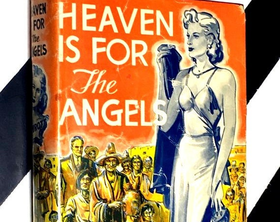 Heaven is for the Angels by Estelle Schrott (1943) hardcover book