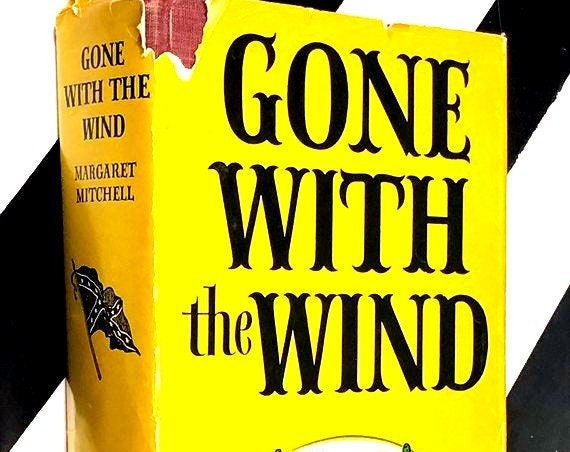 Gone with the Wind by Margaret Mitchell (1974) hardcover book
