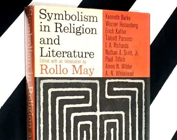 Symbolism in Religion and Literature Edited by Rollo May (1961) hardcover book