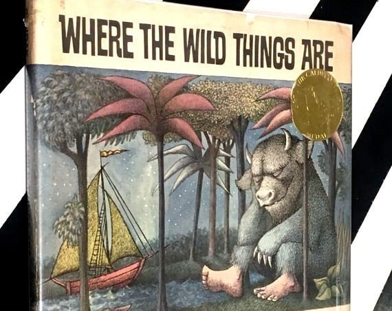 Where the Wild Things Are by Maurice Sendak (1974) hardcover book