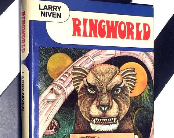 Ringworld by Larry Niven (1970) hardcover book