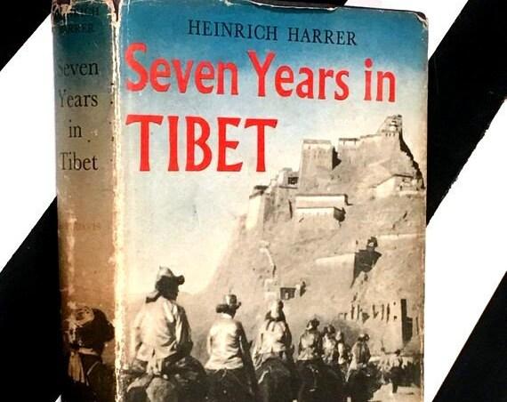 Seven Years in Tibet by Heinrich Harrer (1954) hardcover book