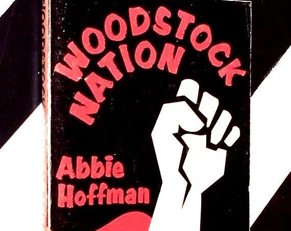 Woodstock Nation: A Talk-Rock Album by Abbie Hoffman (1969) softcover book