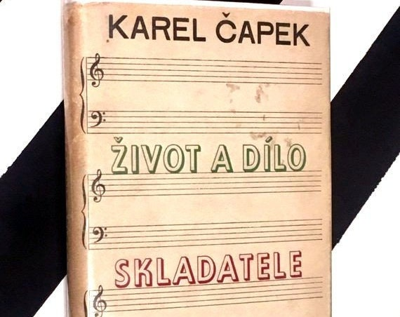 Život A Dílo Skladatele Foltýna (The Life and Work of Foltýn) by Karel Čapek (1949) hardcover Czech classic book
