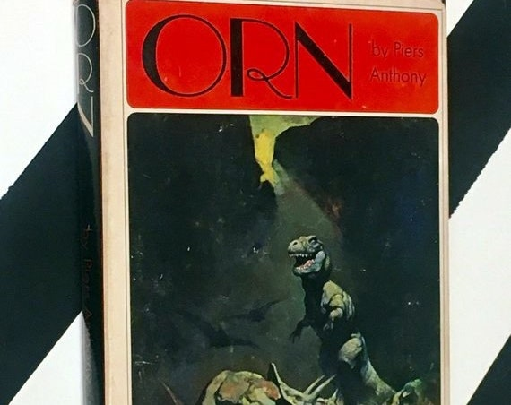 Orn by Piers Anthony (1970) hardcover book