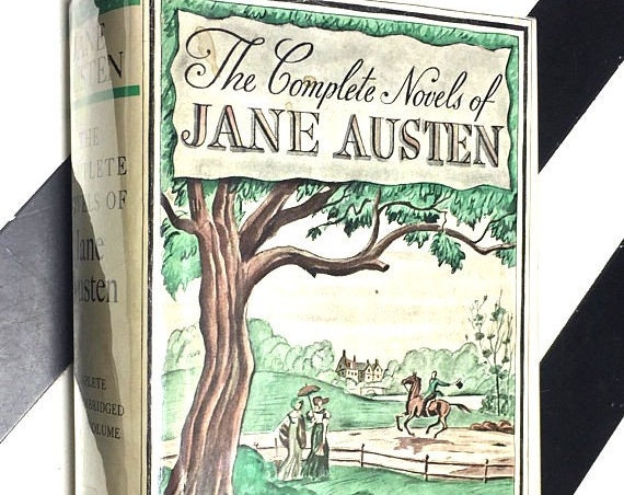 The Complete Novels of Jane Austen - A Modern Library Giant (undated) hardcover book