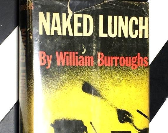 Naked Lunch by William Burroughs (1959) hardcover book