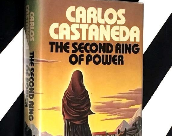 The Second Ring of Power by Carlos Castaneda (1977) hardcover book
