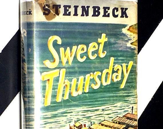 Sweet Thursday by John Steinbeck (1954) hardcover book