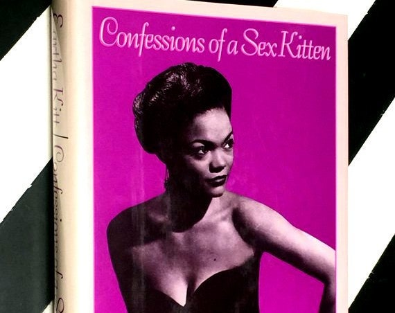 Confessions of a Sex Kitten by Eartha Kitt (1989) hardcover book