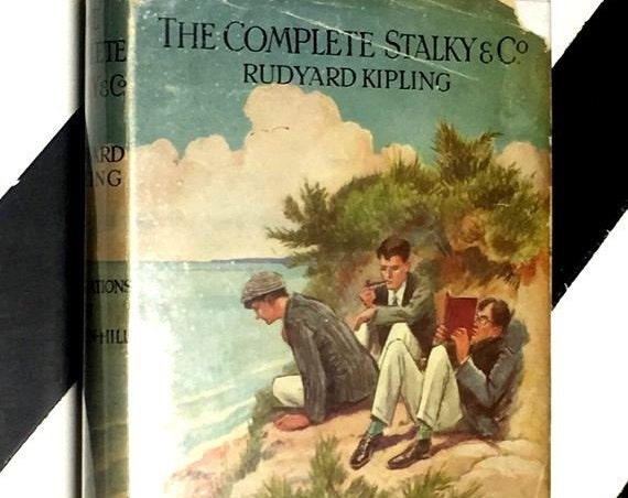 The Complete Stalky & Co. by Rudyard Kipling Illustrations by L. Raven-Hill (1930) hardcover book