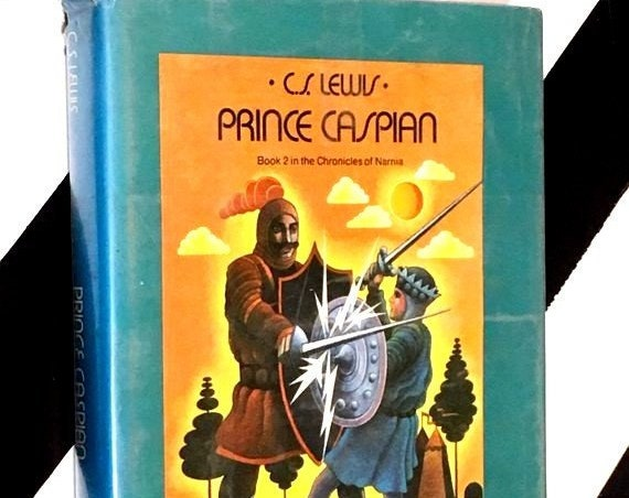 Prince Caspian: The Return to Narnia by C. S. Lewis (1951) hardcover book