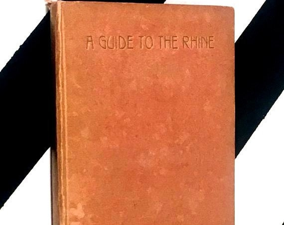 A Guide to the Rhine by G. Hölscher (no date) hardcover book