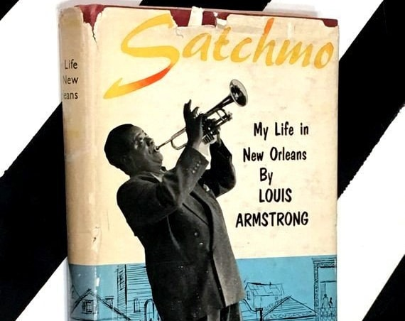 Satchmo: My Life in New Orleans by Louis Armstrong (1956) hardcover book