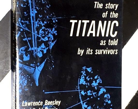 The Story of the Titanic as Told by its Survivors Edited by Jack Winocour (1960) softcover book