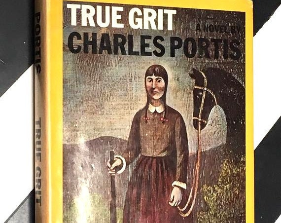 True Grit: A Novel by Charles Portis (1968) hardcover book