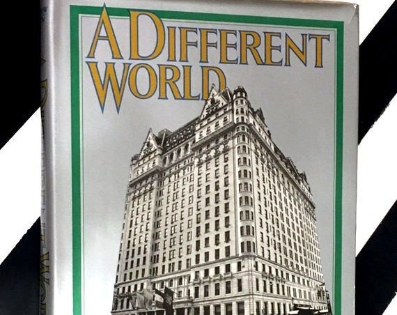 A Different World: Stories of Great Hotels by Christopher Matthew (1976) hardcover book