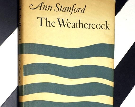 The Weathercock by Anne Stanford (1966) hardcover signed book