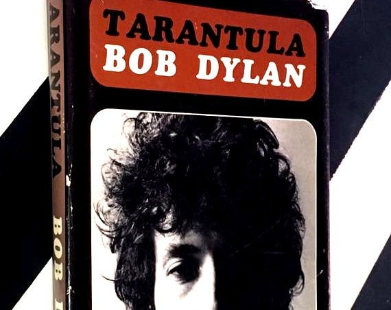Tarantula by Bob Dylan (1971) hardcover first edition book