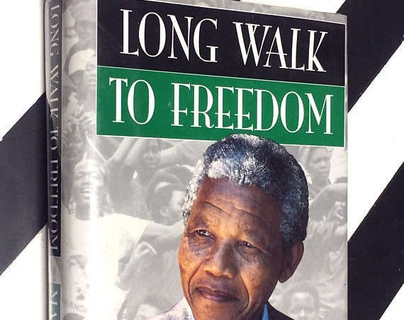 Long Walk to Freedom: The Autobiography of Nelson Mandela (1994) hardcover first edition book
