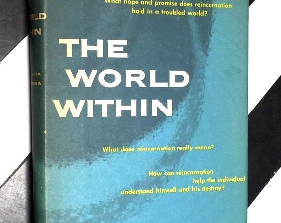 The World Within by Gina Cerminara (1961) hardcover book