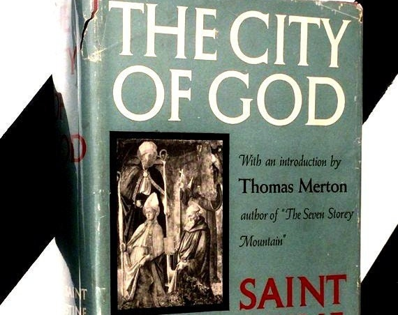 The City of God by Saint Augustine (1950) hardcover book