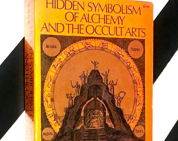 Hidden Symbolism of Alchemy and the Occult Arts by Herbert Silberer (1971) softcover book