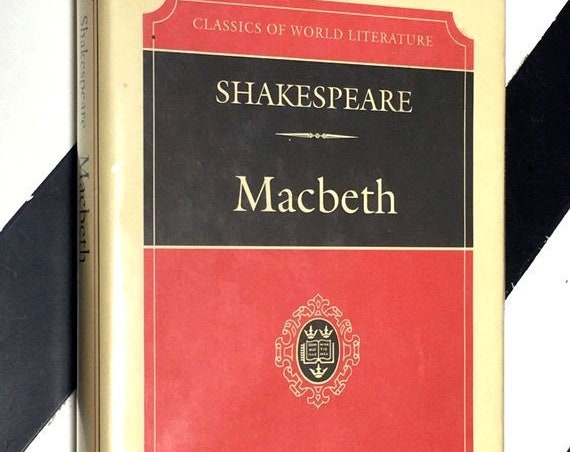 The Tragedy of Macbeth by William Shakespeare Edited by Nicholas Brooke (1994) hardcover book