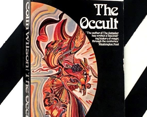 The Occult by Colin Wilson (1973) softcover book
