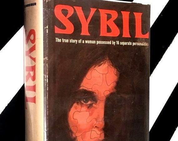 Sybil by Flora Rheta Schreiber (1973) hardcover book