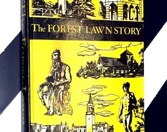 The Forest Lawn Story by Ralph Hancock (1955) hardcover book