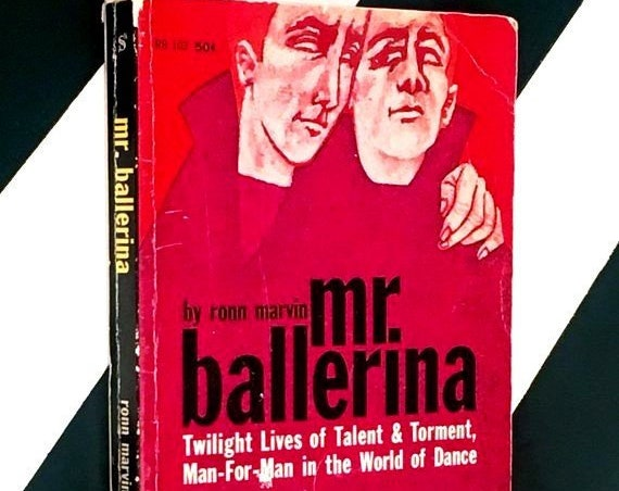 Mr. Ballerina by Ronn Marvin (1961) softcover book