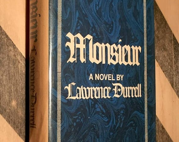 Monsieur by Lawrence Durrell (1975) first edition book