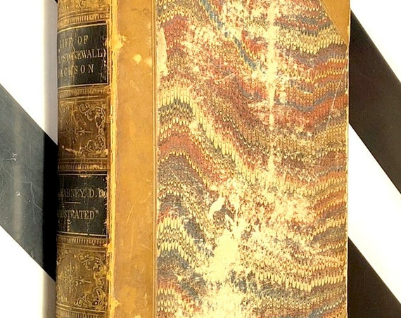 Life of Stonewall Jackson by R. L. Dabney (1866) first edition book